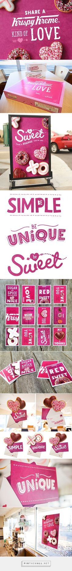 Krispy Kreme Valentine's Day promotion 2014 on Behance... - a grouped images picture - Pin Them All