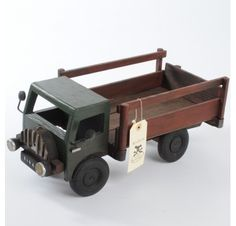 Vintage toy truck from Little Vintage.