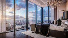Luxury interior design by Faraday 3D Luxury Interior Design, Luxury Apartments, Curtains, 3d, Home Decor, Blinds, Decoration Home, Room Decor, Draping