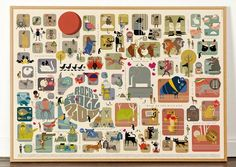 Actualité / Tracy Worrall - Rock N' Roll Zoo / étapes: design & culture visuelle