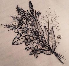 Wildflowers for sunflower