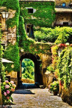 Civita Bagnoregio, Italy