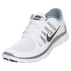 pretty nice 43642 49750 Men s Nike Free 5.0 Running Shoes   FinishLine.com   White Cool Grey