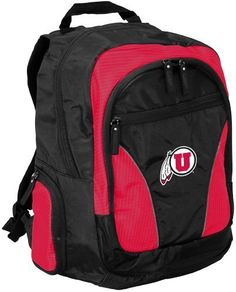 NCAA Utah Runnin Utes Team Backpack by Logo. $49.95. Take your pride to college or wherever you go! Main compartment provides ample storage for books in addition to a padded area that will hold up to a 17-Inch laptop. Pockets for MP3 player, keys, water bottles, pens, etc.