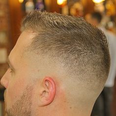 This is just me — Low Skinfade/ Messy Top Hot Haircuts, Very Short Haircuts, Boy Hairstyles, Military Haircuts Men, Military Fade Haircut, Hair And Beard Styles, Short Hair Styles, Short Fade Haircut, Beard Images