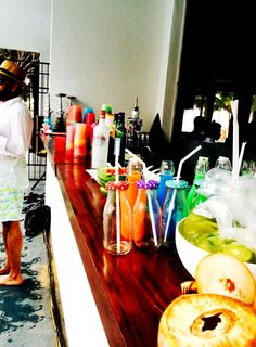 Tropical Bar for a pool party