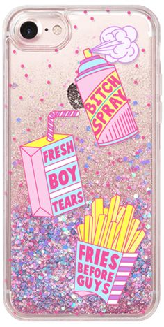 Casetify iPhone 7 Glitter Case - Girl Gang Starter Pack by Jade Boylan #Casetify