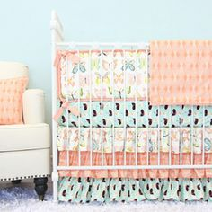 Bentley's Butterfly Baby Bedding
