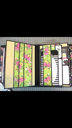 All Occasion Mini Album 2 created by crafter Suzanne Hue. Click on the link below to purchase the tutorial. http://shop.paperphenomenon.com/All-Occasion-Mini-Album-2-Tutorial-Video-Combo-tutvid0121.htm