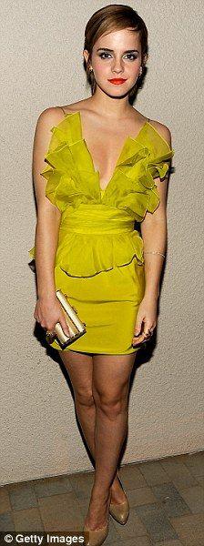 Emma Watson in Marchesa