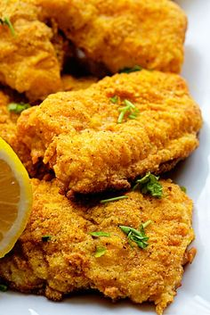 Spicy Oven Fried Catfish ~ LOVE some baked fish! Basa Fish Recipes, Fried Catfish Recipes, Baked Catfish, Oven Fried Fish, Fish Fry, Catfish Nuggets Recipes, Fried Catfish Nuggets, Best Fried Fish Recipe, Gastronomia