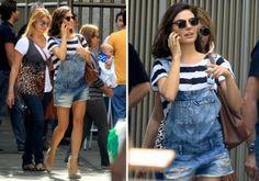 Macacão jeans para o verão 2015! #moda #fashion #trends #verão #modaverao