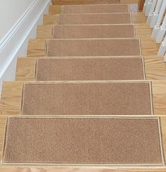 Ottomanson Homeline Escalier Collection Beige in. x 26 in. Rubber Back Oval Stair Tread Cover (Set of - The Home Depot Stair Tread Covers, Stair Tread Rugs, Carpet Stair Treads, Carpet Stairs, Wall Carpet, Diy Carpet, Carpet Ideas, Bedroom Carpet, Carpet Trends