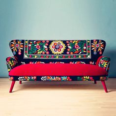 Patchwork 3-Seater Sofa, 2.645€, now featured on Fab.
