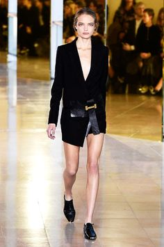 Anthony Vaccarello spring/summer 2016 collection show pictures | Harper's Bazaar