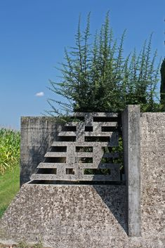"""""""Everyone, deep down within, carries a small cemetery of those he has loved"""" - ROMAIN ROLLAND - (Brion Cemetery by Carlo Scarpa, Italy Beautiful Architecture, Architecture Details, Landscape Architecture, Landscape Design, Carlo Scarpa, Architecture Foundation, Artist And Craftsman, Shade Structure, Garden Structures"""