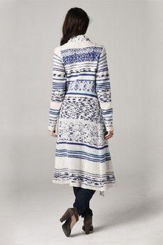 Savannah Sweater in Ashen Blue @Pascale Lemay De Groof