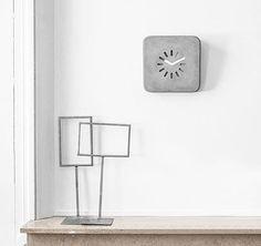 Beton Uhr Für Die Wand Oder Den Schreibtisch: Schlichte, Aber Trotzdem  Schnittige Uhr