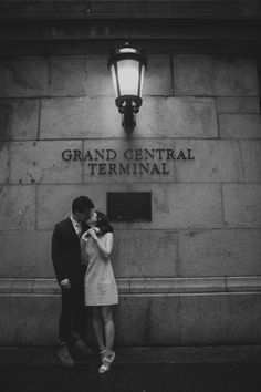 Studio Daniel - Engagement Session Central Park to Grand Central...