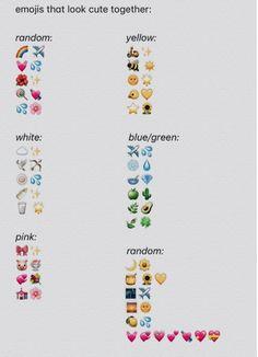 emojis that look cute together. Usernames Para Instagram, Instagram Emoji, Instagram Funny, Story Instagram, Creative Instagram Stories, Instagram Username Ideas, Caption For Instagram, Usernames For Snapchat, Friends Instagram