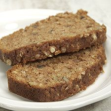 APPLESAUCE OATMEAL BREAD A light sprinkling of oats on top of the batter before baking tells people about the goodness within. This bread is moist and flavorful, and makes a great breakfast with a bit of cream cheese on top.