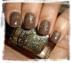 "Essie - Mink Muffs + Color Club - ""Gingerbread"""