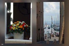 Saint Tropez vue sur le port  By Alain Chantelat
