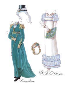 Regency Lady Paper Dolls, Pg 6
