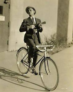 Uke and bike.