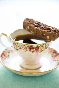 Royal Albert Teacup and Biscotti
