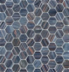 Want a polished and elegant look for your home or business while also staying on-trend? Look no further than gorgeous glass mosaic tiles from Granite and Trend Transformations. Hexagon Mosaic Tile, Mosaic Glass, Stained Glass, Beaumont Tiles, Bathroom Kids, Bathrooms, Kitchen Backsplash, Recycled Materials