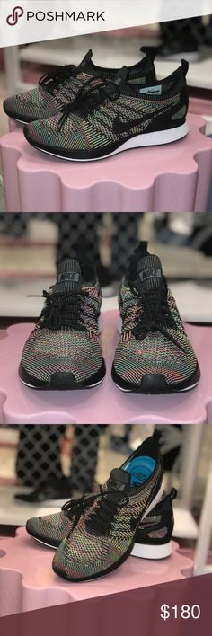 Nike Air Zoom Mariah Racer Brand new & never worn! Will come with the Nike earrings and a large Nike tote bag Size 8 in women Nike Shoes Athletic Shoes