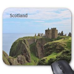 Photographic Scotland Castle Mousepad
