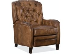 Shop for Hooker Furniture Nolte Recliner, and other Living Room Arm Chairs at Stacy Furniture in Grapevine, Allen, and Flower Mound, Texas. Stacy Furniture, Hooker Furniture, Furniture Design, Leather Pillow, Leather Recliner, Leather Sofa, Living Room Chairs, Living Room Furniture, Power Recliners