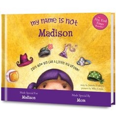 My Name Is Not Isabella Personalized Children's Book
