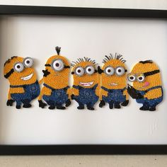 Hand crafted artwork for sale. If interested please contact me at Quilling_In_Harmony@hotmail.com #quillinginharmony #art #artsandcrafts #quilling #handcrafted #artwork #forsale #artworkforsale #instagram #minions #despicableme