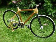 Durable Bamboo Bikes from Kawayan Tech. Philippines...
