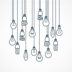 stock-illustration-77098833-light-bulb-hanging-on-cords-lamps.jpg (235×235)