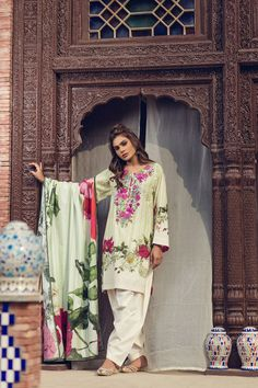 Refreshing Green unstitched Pakistani pret dress by Kapray online printed clothes 2018#wintercollection  #blackfriday #readytowear #pretwear  #unstitched #online  #linen #linencollection  #lahore #karachi #islamabad #newyork #london  #pakistan #pakistani #indian #alkaram #breakout #zeen  #khaadi #sanasafinaz #limelight #nishat #khaddar #daraz #gulahmed #2017 #2018  #blackfriday #pakistani_dresses #best_price #indian_dresses