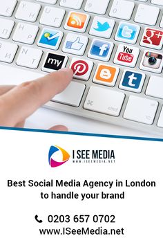 I See Media is Best Social Media agency in UK specialised in helping SME's grow their business with a strong online presence! Social Media Marketing Agency, Digital Marketing Strategy, Digital Marketing Services, Business Marketing, Top Social Media, Social Media Company, Social Media Services, Set Up Account, Social Media Training