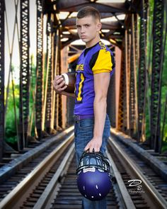 #Michigan #Senior #Picture #Pictures  He wanted something with the railroad tracks I wanted to do something that hasn't been overdone.  #Senior #Photos