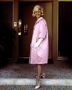 Doris Day  & Givenchy.   Paris,1960.