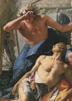 Giovanni Battista Tiepolo (1696-1770) The Death of Hyacinthus (Detail)