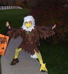 Adler Kostüm selber machen |Kostüm Idee zu Karneval, Halloween, Fasching & Vogelball 4