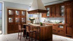 Cucina in legno Amélie | Sito ufficiale Scavolini