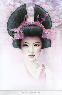 """Geisha"" by Bec Winnel"