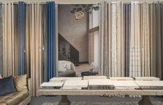 Kobe's stand at #Decorex #events #shows #interiors #interiordecoration #interiorfabrics #curtain #meubelstof #gordijnstof #upholstery #Citychic #interiordesign #colours #style