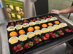 A variety of fruits for students to choose from in Fayette County, KY!