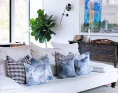 I swoon myself a little DIY crafting project - hop on over to today's ES to catch a glimpse of the new pillows in my Amagansett home. They are to DYE for! #eyeswoon #diy #dye #pillows #decor #design #craft #swoonworthy by eyeswoon