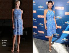 Angie Harmon In Naeem Khan – Extra #fashion #Red carpet #Celebrity